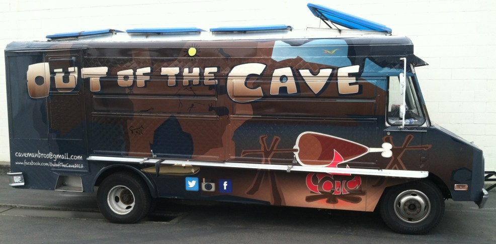 out of the cave food truck wrap-10