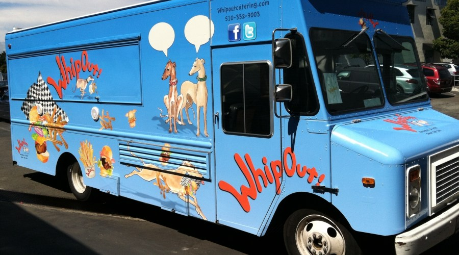 Whipout Catering Food Truck Wrap