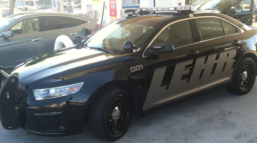 Car Wrap for Lehr Security Vehicle