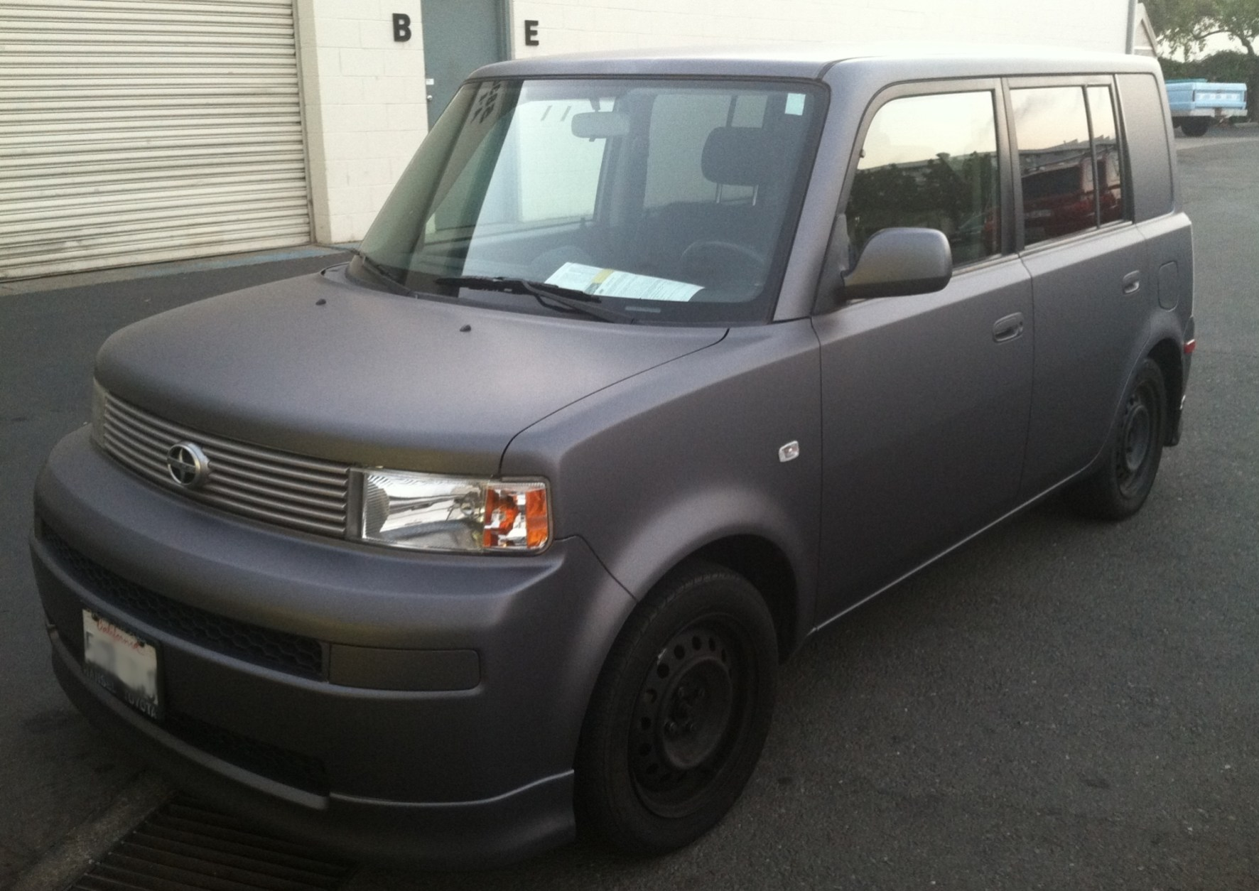 Matte Black Scion Color Change Wrap Custom Vehicle Wraps