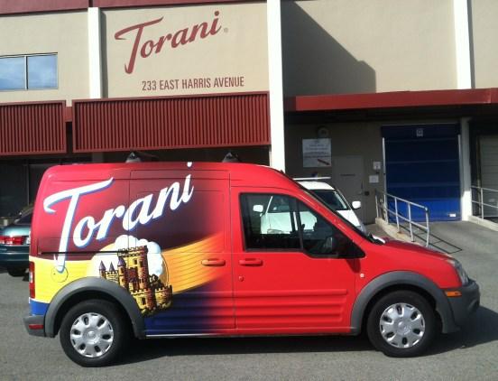 Torani Car Wrap-10