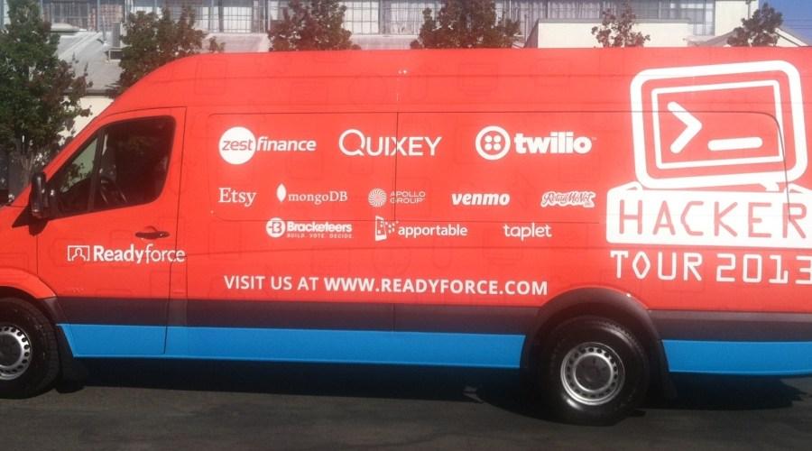 Hacker Tour Van Wrap