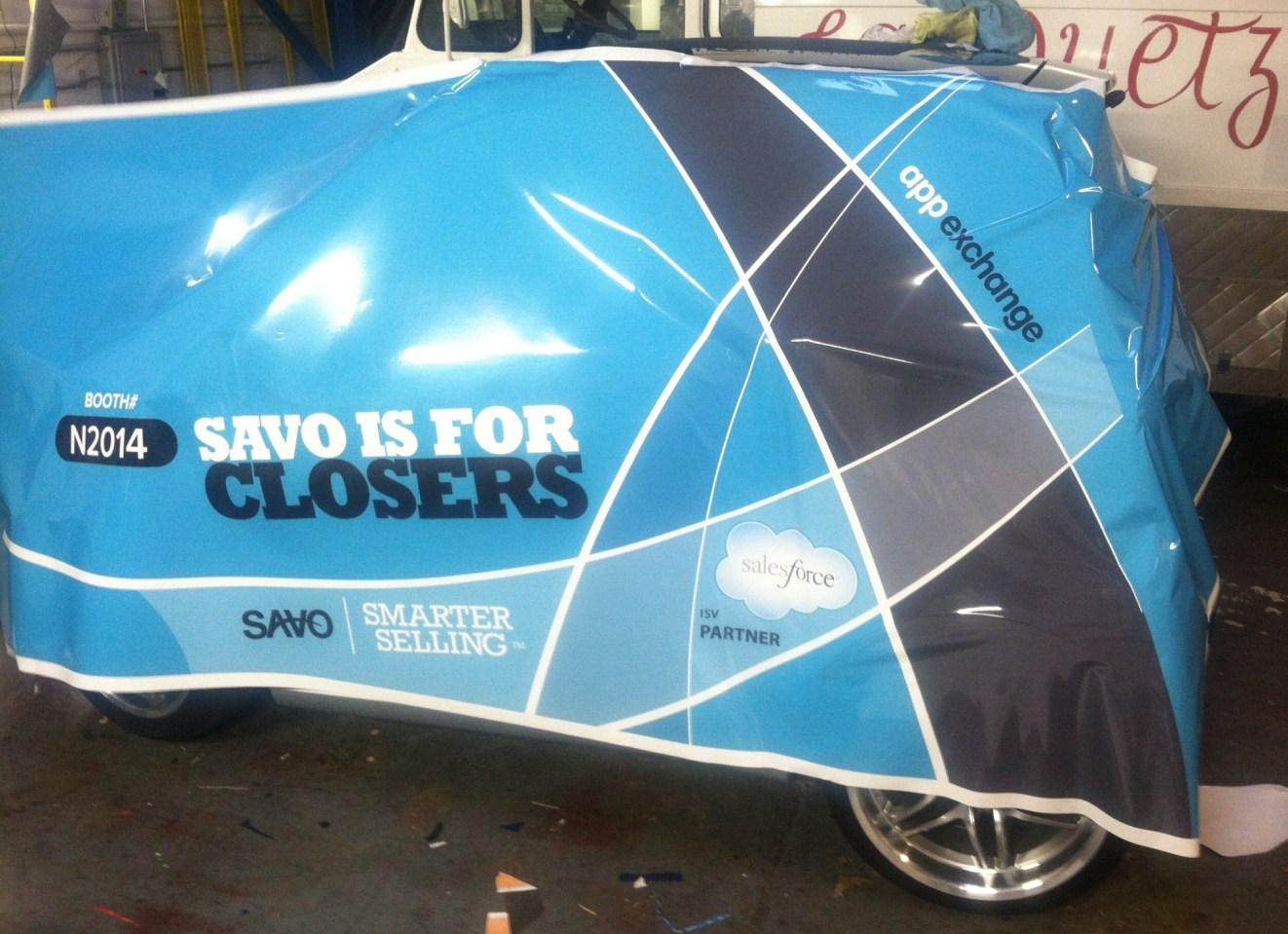 savo smart car wrap