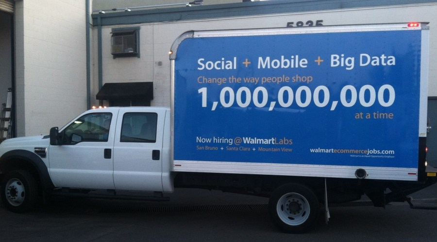 Trailer Wrap for Walmart Labs