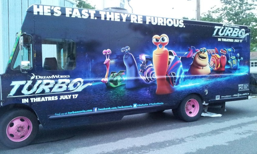 Dreamworks Turbo Van Wrap-02
