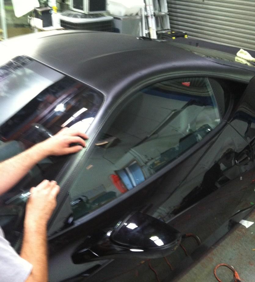 Ferrari Matte Grey Wrap-10