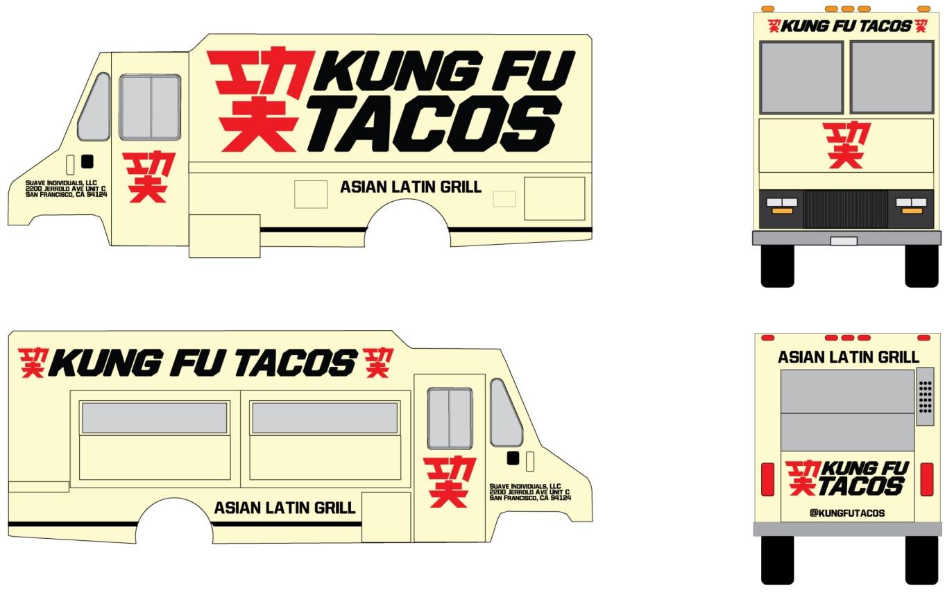 Kung Fu Tacos Design
