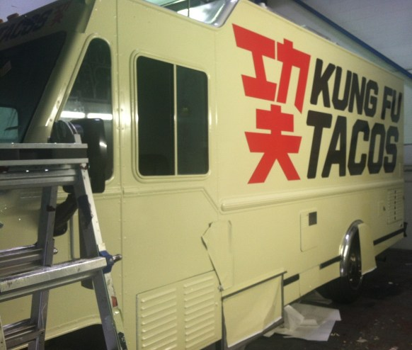 Kung Fu Tacos Food Truck Wrap-14