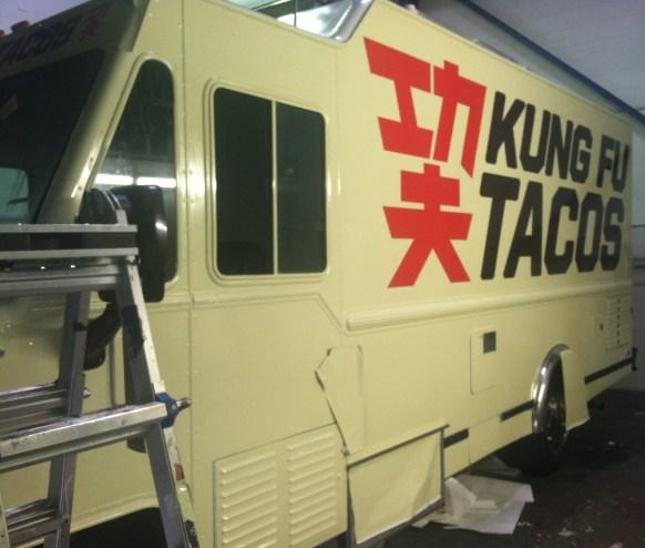 Kung Fu Tacos Food Truck Wrap-14