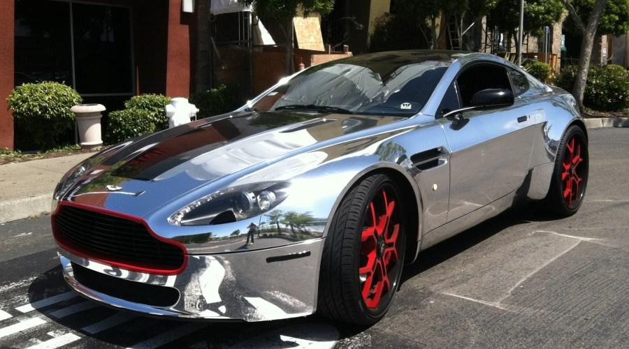 Chrome Wrap for Aston Martin