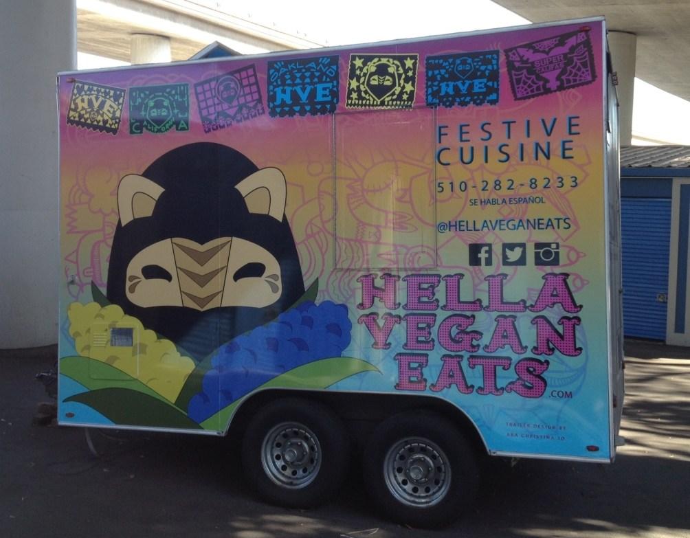 hella vegan eats food trailer wrap-03
