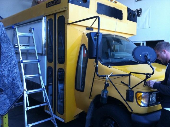 Eat Schoolbus Wrap