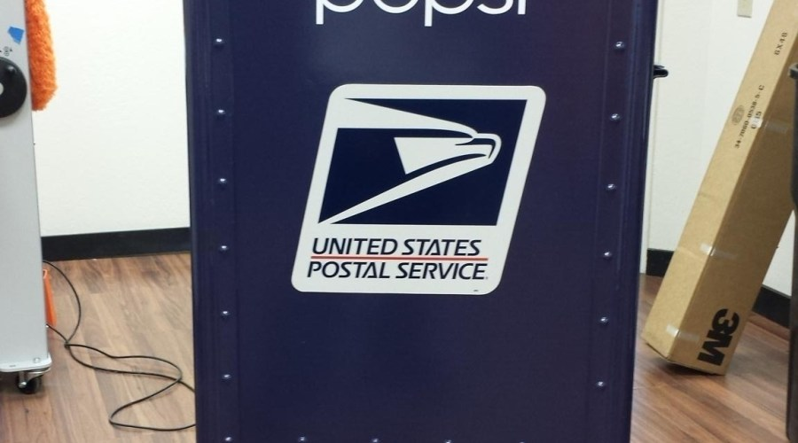 Postal Box Wrap for Pepsi