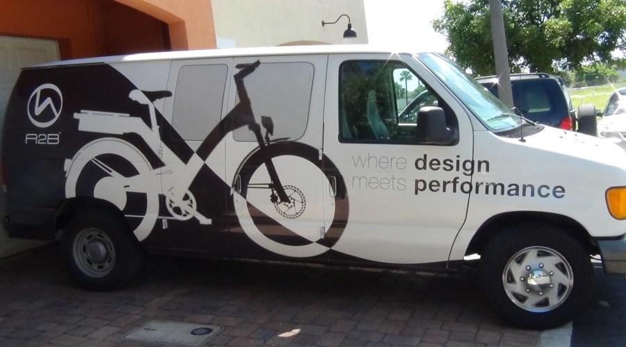 Van Wrap for A2B Electric Bikes