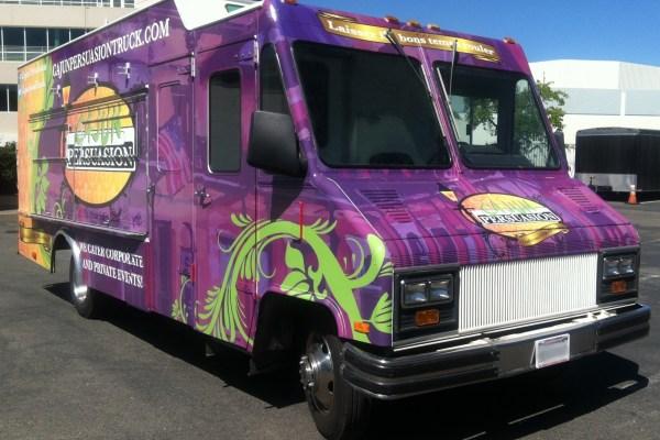 Cajun Persuasion Food Truck Wrap