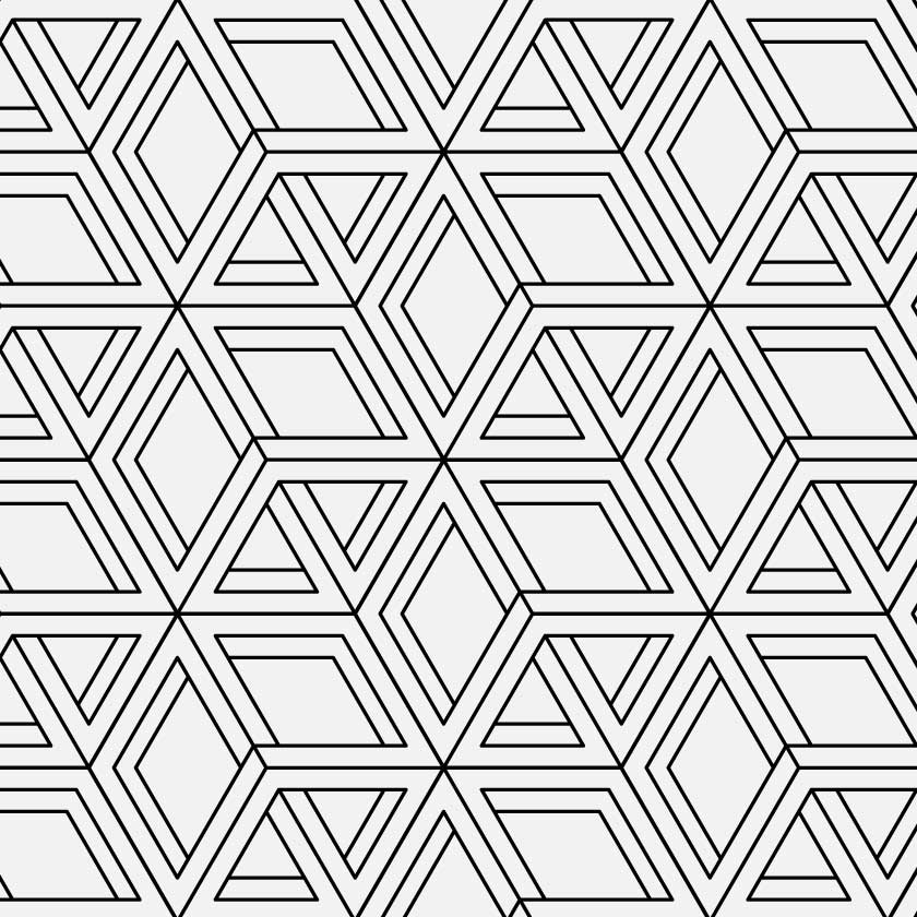 Geometric Illusion 2189  Custom Wallpaper