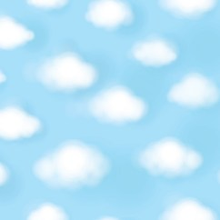 Beautiful Wall Art For Living Room Ikea Inspiration Cute White Puffy Clouds Over A Blue Sky - Dreamy Wallpaper ...