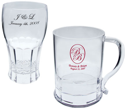 personalized plastic mugs and