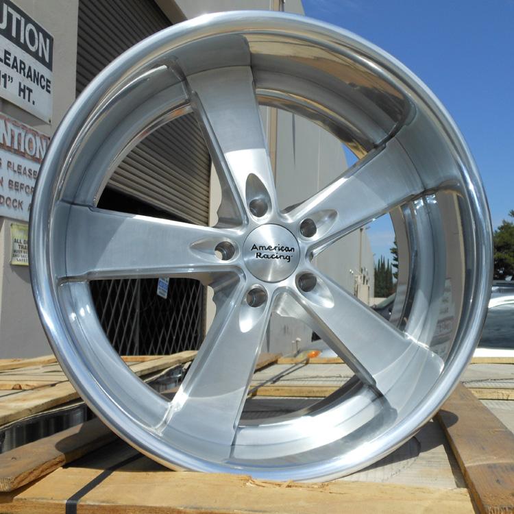 American Racing VN472 472 Burnout Brushed Custom Wheels