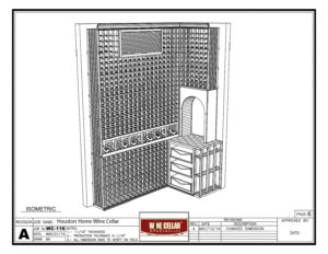 Home Wine Cellar Closet Conversion Project Houston