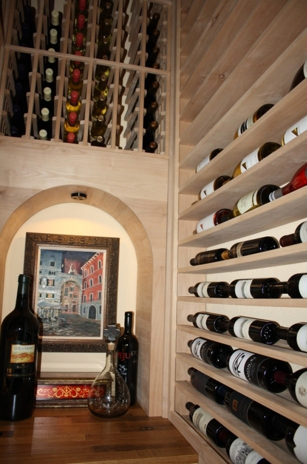 California Small Wine Storage Options  Cabinets Closets
