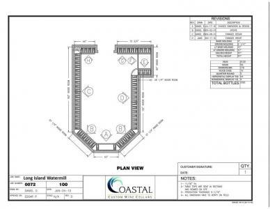 Custom Wine Cellar Racks Designed by Experts in Presidio