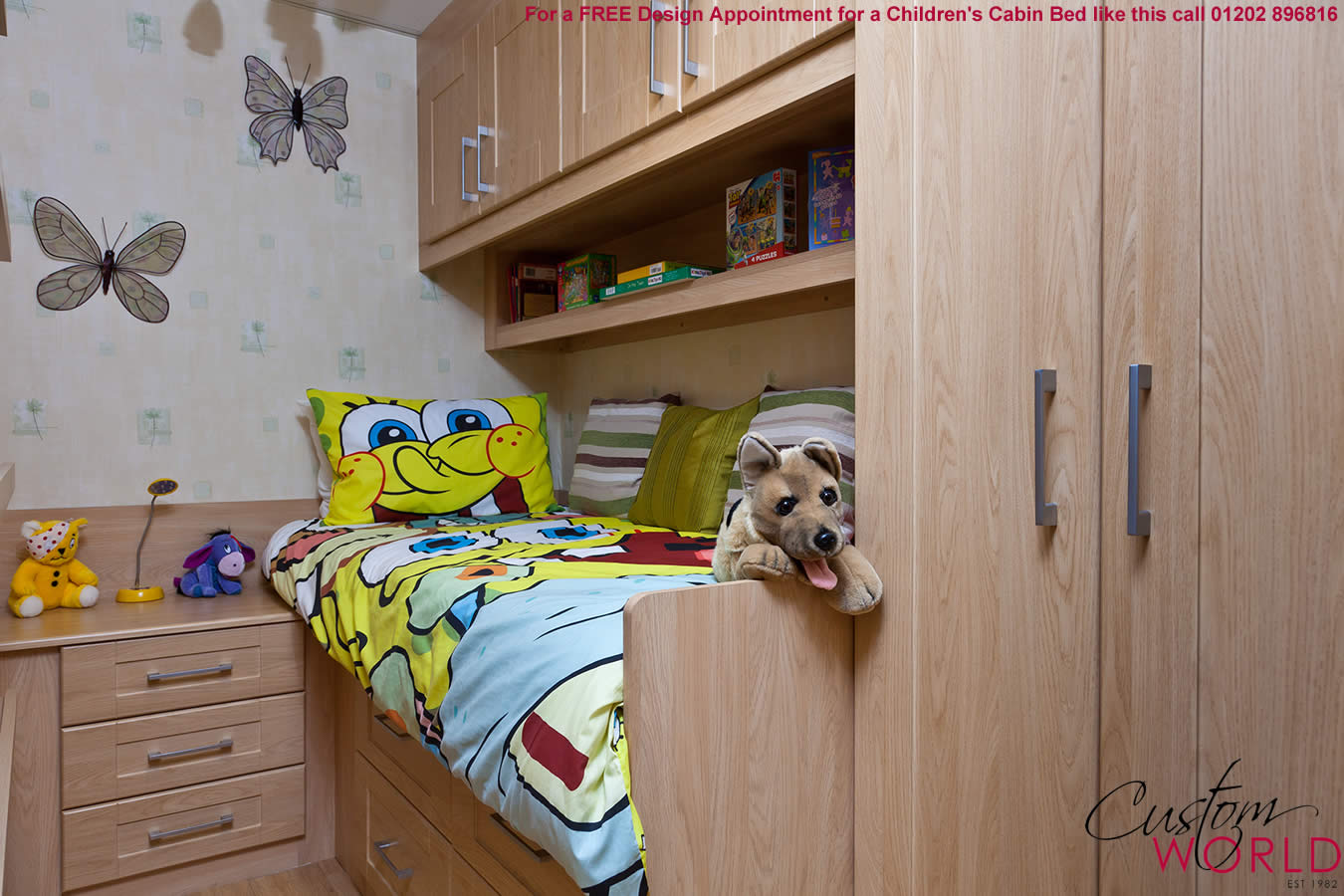 27 Delightful Kids Fitted Bedroom