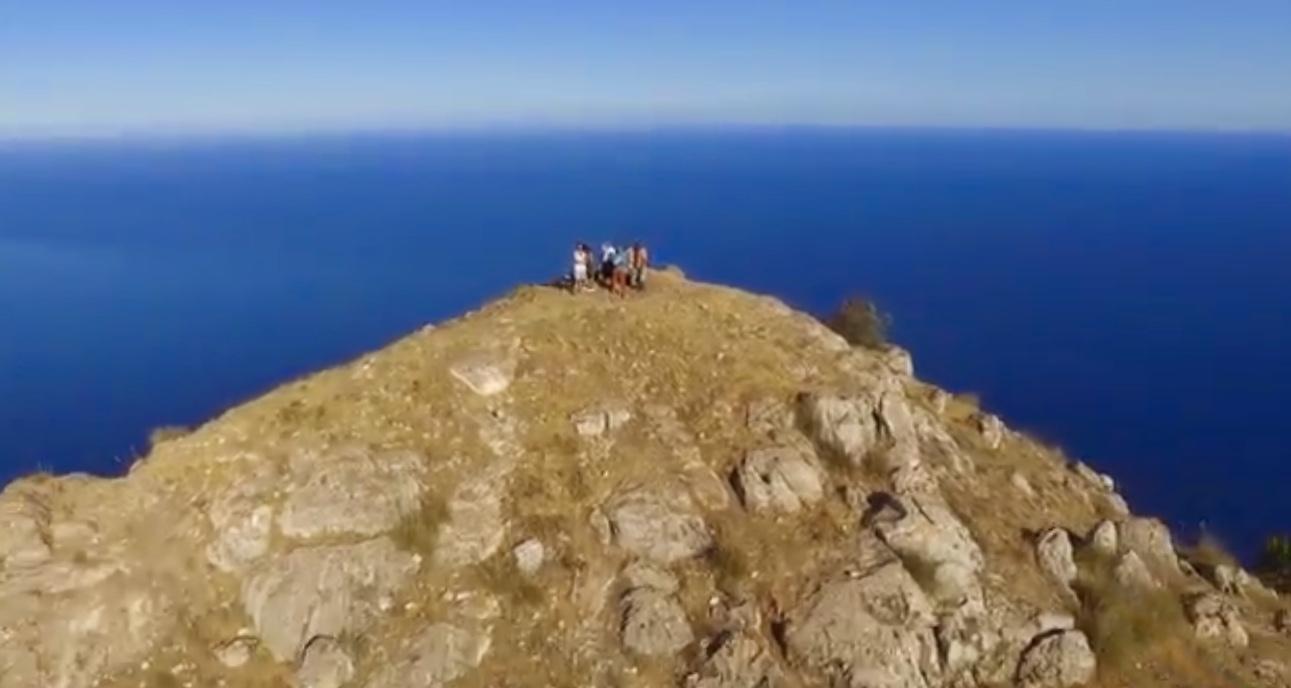 Monte Cofano filmato da un drone … immagini emozionanti!