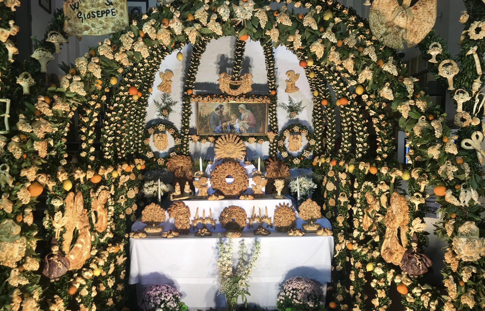 Salemi: una cena per San Giuseppe di Nazareth, custode della Sacra famiglia.