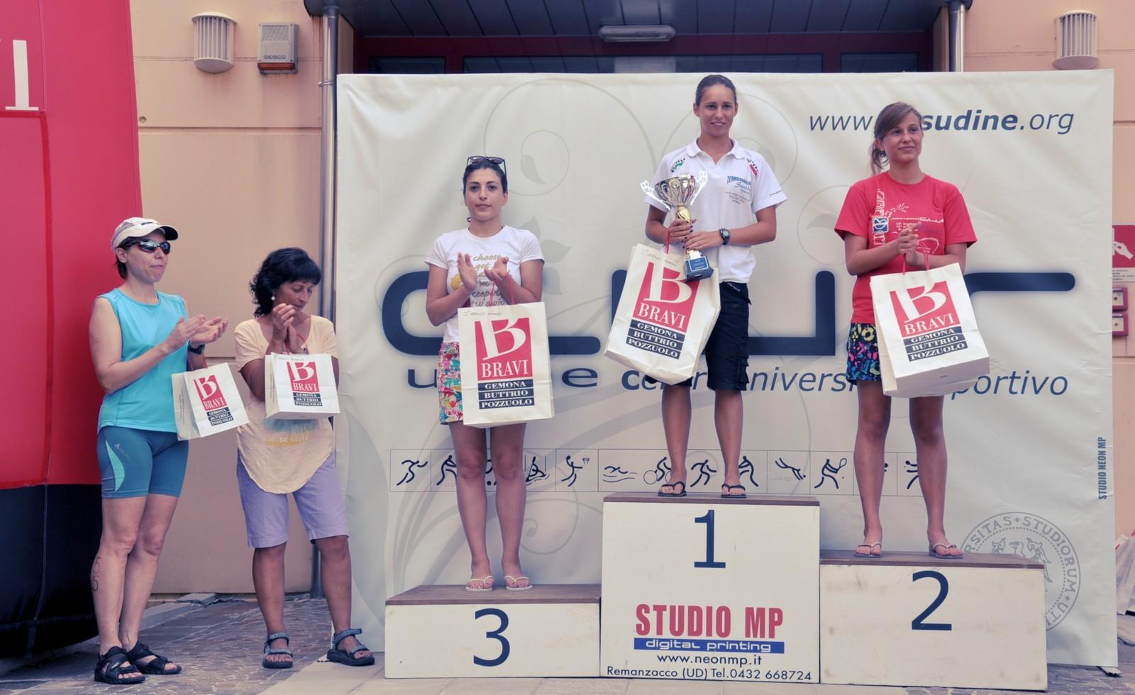 Triathlon Gemona positivi riscontri per la nuova proposta