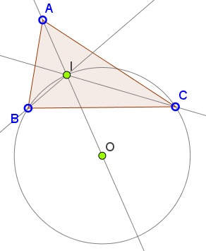 Circumcenter on Angle Bisector