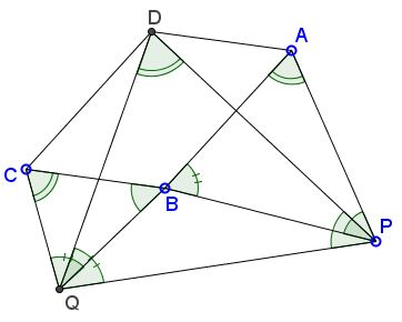Parallelogram and Similar Triangles