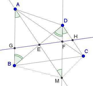 Parallel Lines in a Quadrilateral