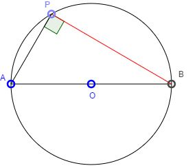 Angles Subtended by a Diameter