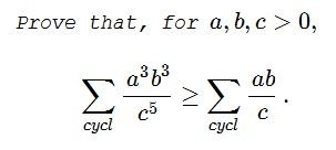 Powers and Fractions Inequality