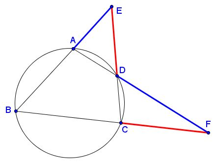 A Property of Cyclic Quadrilateral