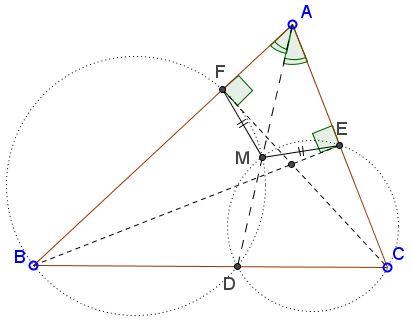 Chasing Angles on Radical Axis