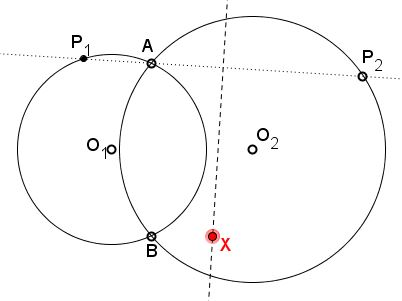 Fixed Point on Perpendicular Bisector