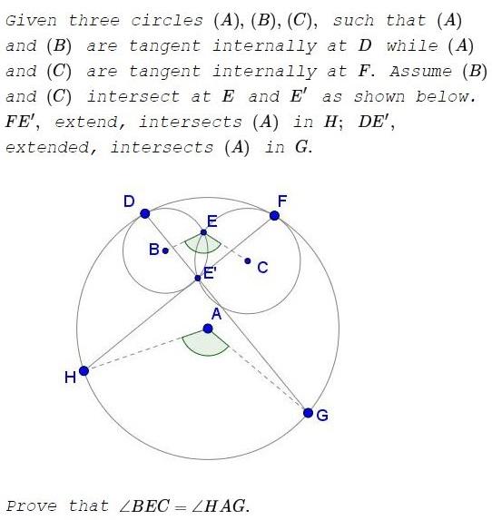 Homothety in Three Tangent Circles II