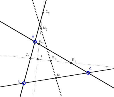 Orthogonal Lines, Midpoints, and Collinearity
