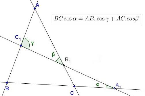 Transversal Trigonometry