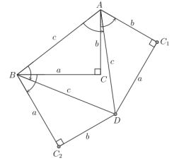 Pythagorean Theorem through Equilateral Triangles