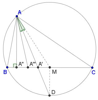 A One-Sided Inequality in Triangle
