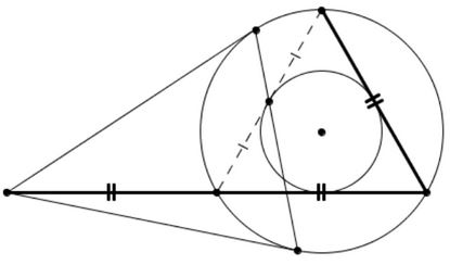 Seven Problems in Equilateral Triangle