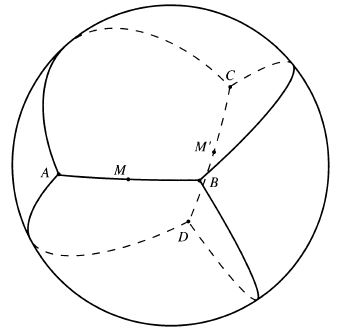Tiling Sphere by Four Equal Triangles