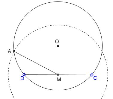 Triangle from Side, Circumradius, and Median
