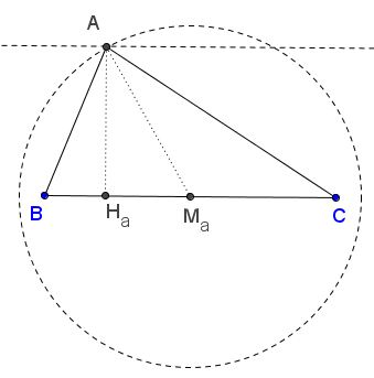 Triangle from Side, Median, and Altitude