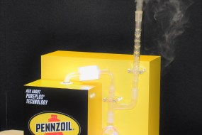 Penzoil Vapor Display