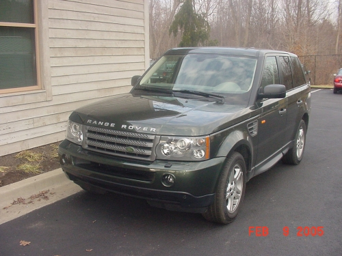 2006 Range Rover Sport Rolling Chassis