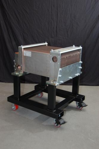 Diesel Locomotive Lube Oil Cooler